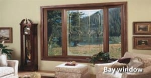 Markey Home Remodeling bay window replacement or repair.