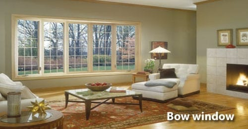 Markey Home Improvement bow window replacement or repair.