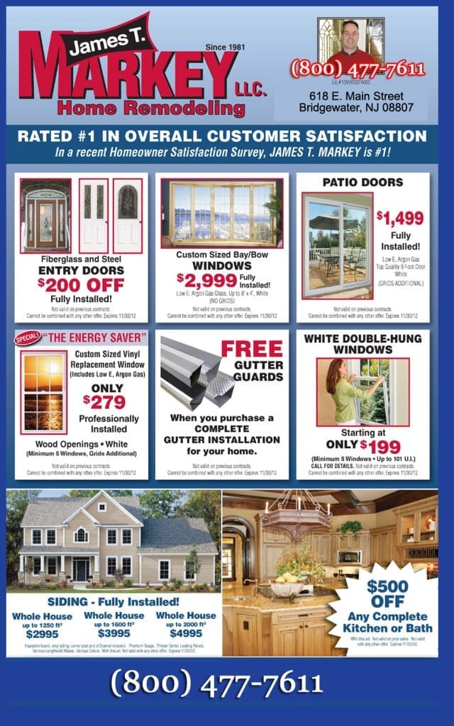 Markey Home Improvement window replacement discount coupons