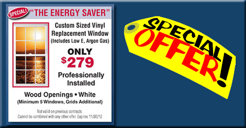Energy Saver Replacement Window Sale! - NJ Window