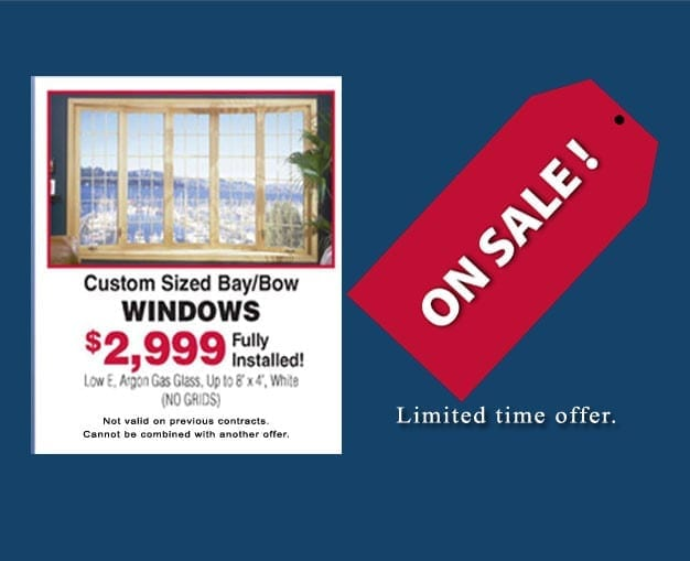 Markey Home Remodeling saves you $100 on composite Double Hung replacement windows in NJ.