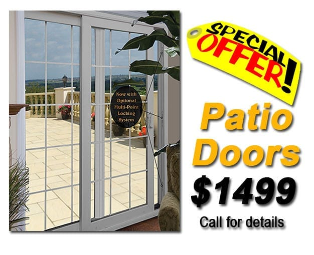 Markey Home Remodeling installs replacement patio doors since 1981. Call us for a price quote.